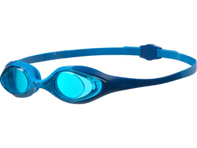 5edceba1c09ad ▷ arena Spider Goggles Juniors blue-lightblue-blue online bei ...